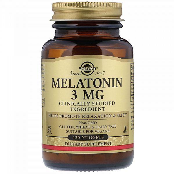 Мелатонин (Melatonin) 3 мг 120 таблеток
