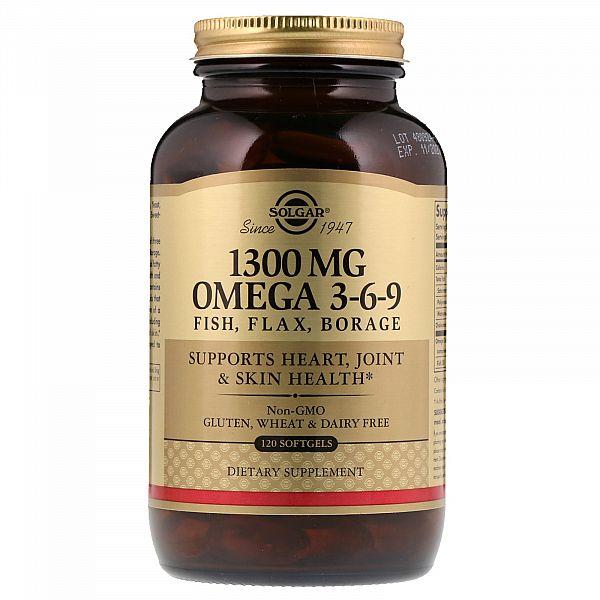 Рыбий жир с Омега 3-6-9 (EFA Omega 3-6-9) 120 капсул