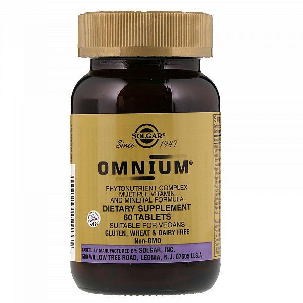 Мультивитамины и минералы Омниум с железом (Omnium) 60 таблеток