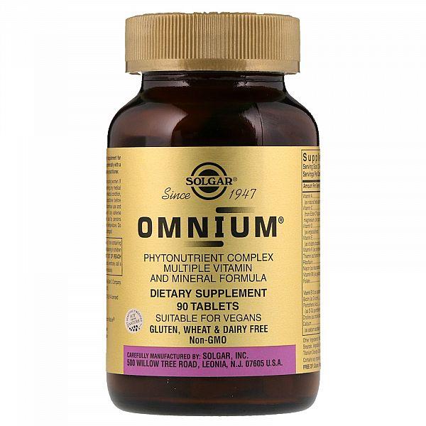 Мультивитамины и минералы Омниум с железом (Omnium) 90 таблеток