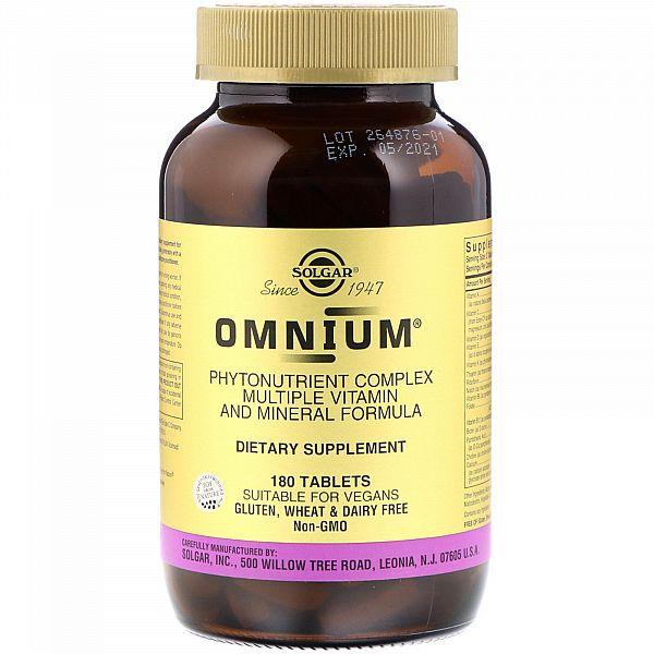 Мультивитамины и минералы Омниум с железом (Omnium) 180 таблеток