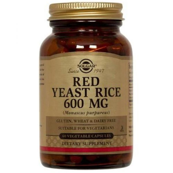 Красный дрожжевой рис (Red Yeast Rice) 600 мг 60 капсул
