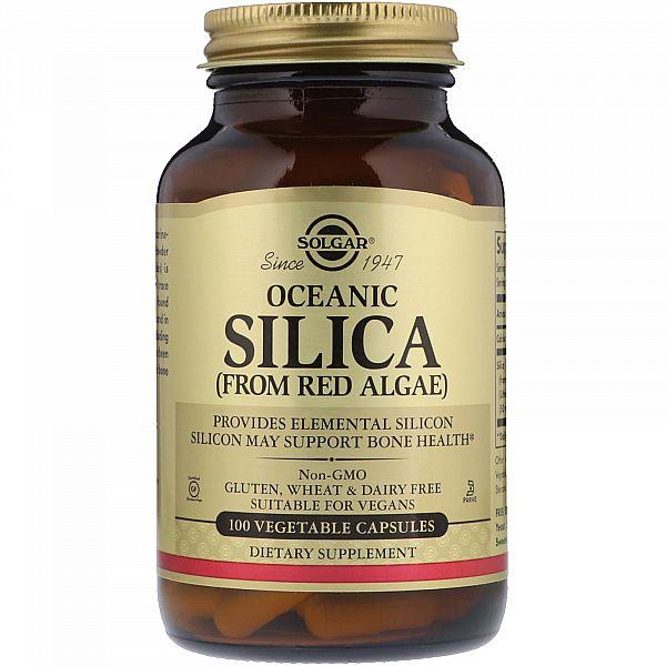Кремний с кальцием из красных водорослей (Oceanic Silica) 54 мг/100 мг 100 капсул