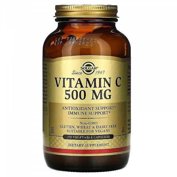 Витамин С (Vitamin C) 500 мг 250 капсул