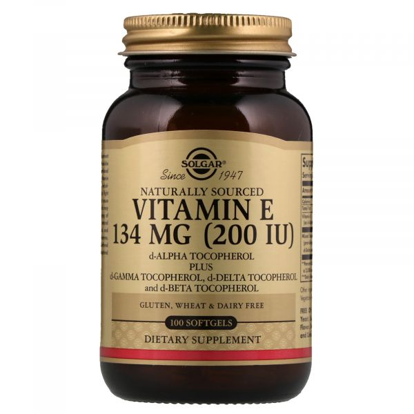 Витамин E усиленного действия (Vitamin E) 200 ME 100 капсул