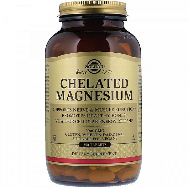 Магний хелат (Chelated Magnesium) 100 мг 250 таблеток
