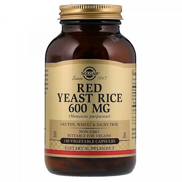 Красный дрожжевой рис (Red Yeast Rice) 600 мг 120 капсул
