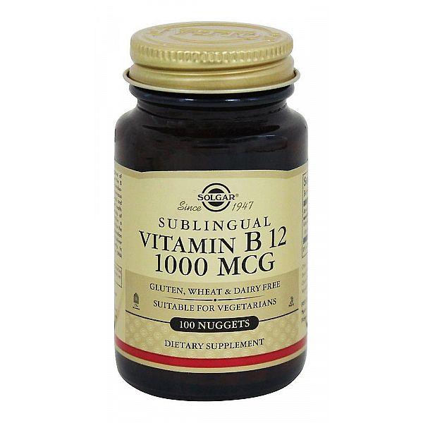 Витамин В12 (Sublingual Vitamin В12 cyanocobalamin) 1000 мкг 100 таблеток