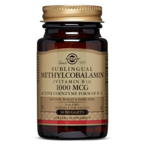 Витамин В12 (Sublingual Methylcobalamin В12) 1000 мкг 30 таблеток