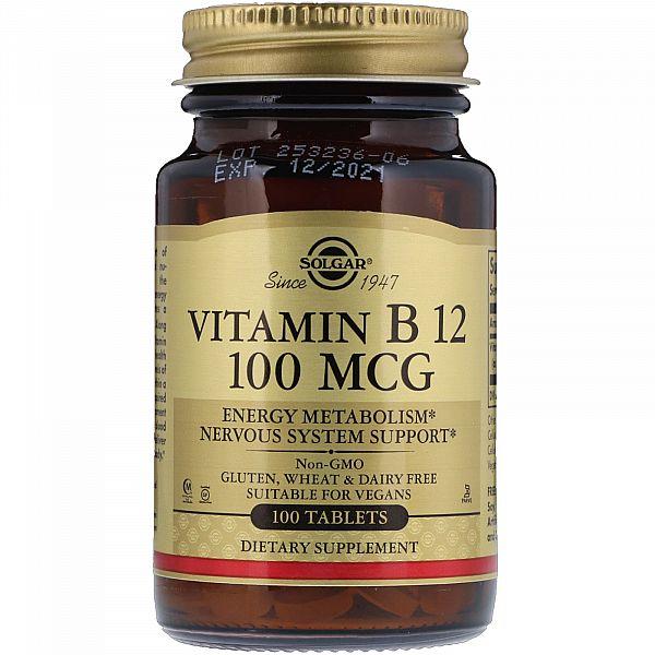 Витамин В12 (Vitamin B12) 100 мкг 100 таблеток