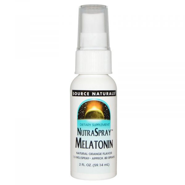 Мелатонин спрей (Nutraspray melatonin) 1.5 мг 59 мл со вкусом апельсина