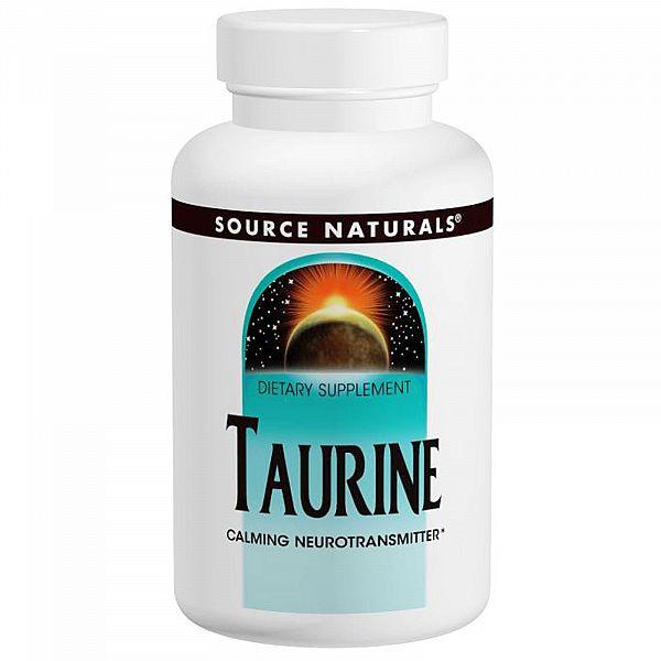 Таурин (Taurine) 1000 мг 120 капсул