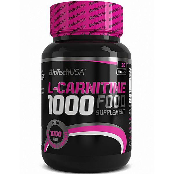 L-карнитин (L-Carnitine) 1000 мг 30 таблеток