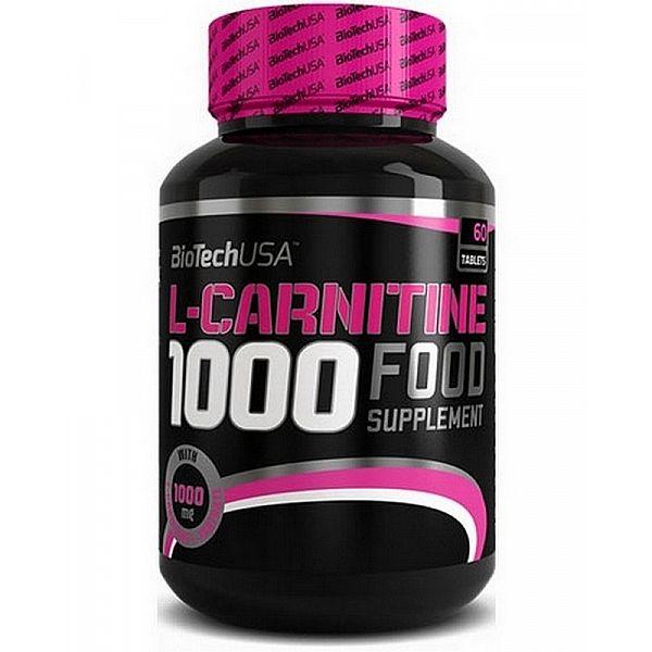 L-карнитин (L-Carnitine) 1000 мг 60 таблеток