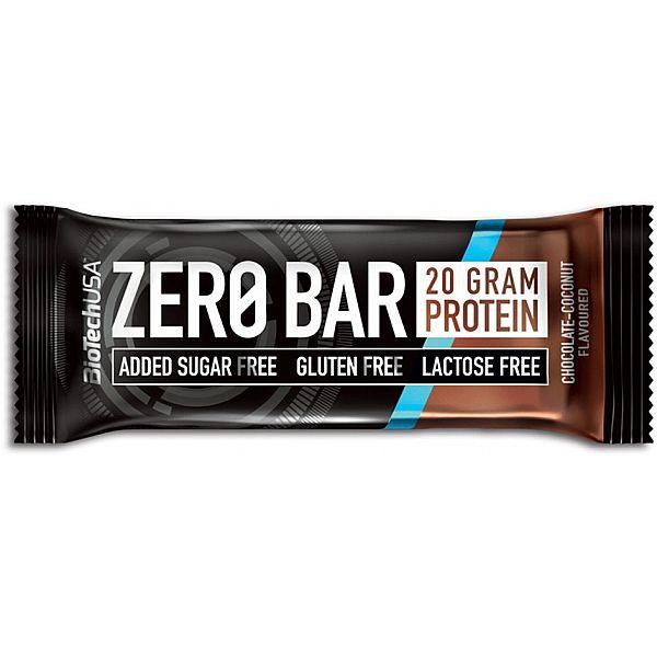 Протеиновый батончик (ZERO Bar) 50 г со вкусом шоколад - кокос
