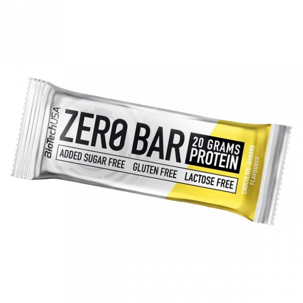 Протеиновый батончик (ZERO Bar) 50 г со вкусом шоколад - банан