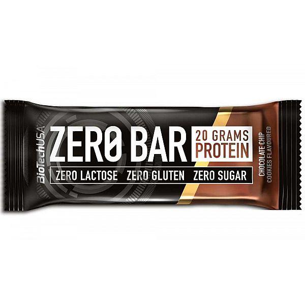 Протеиновый батончик (ZERO Bar) 50 г со вкусом печенья с шоколадной крошкой
