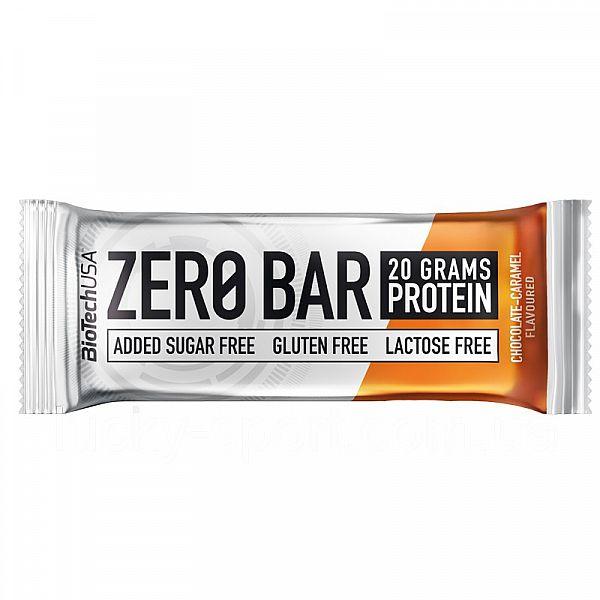 Протеиновый батончик (ZERO Bar) 50 г со вкусом шоколада-карамели