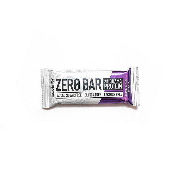 Протеиновый батончик (ZERO Bar) 50 г со вкусом шоколада-сливы