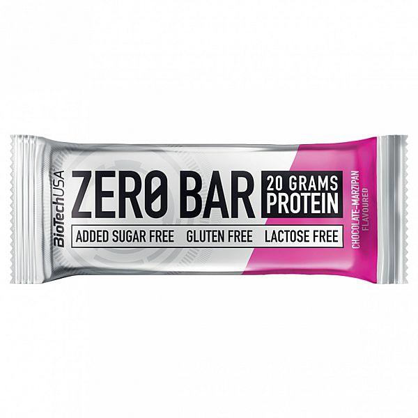 Протеиновый батончик (ZERO Bar) 50 г со вкусом шоколада-марципана