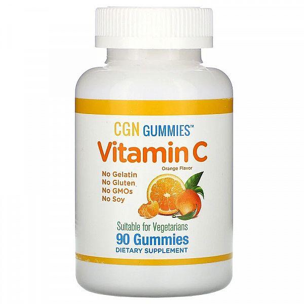 Жевательный витамин C (Vitamin C) 90 жевательных таблеток со вкусом апельсина