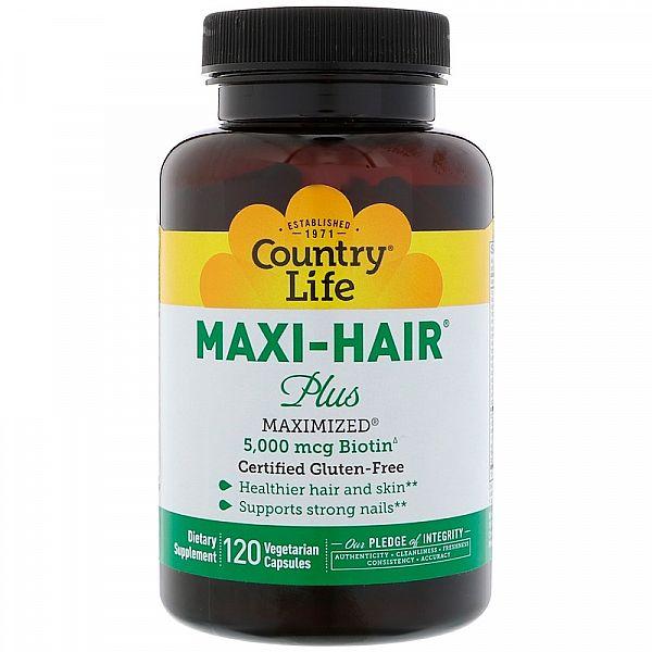 Витамины для волос (Maxi-Hair Plus) 120 капсул