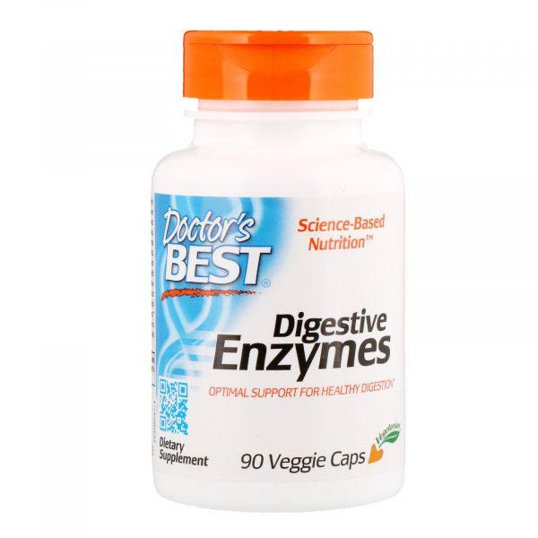 Натуральные ферменты для пищеварения (Digestive Enzymes) 90 капсул