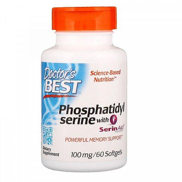 Фосфатидилсерин (Phosphatidylserine) 100 мг 60 капсул