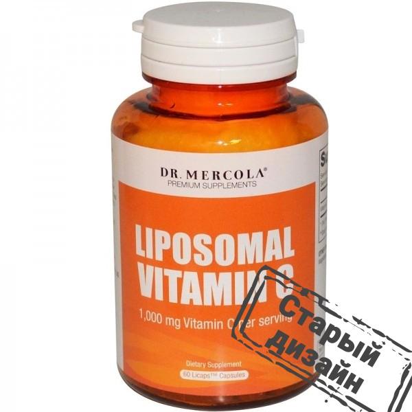 Липосомальный витамин С Liposomal Vitamin C 500 мг 60 капсул