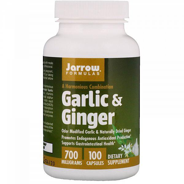 Корень имбиря и чеснок (Garlic Ginger)  700 мг 100 капсул