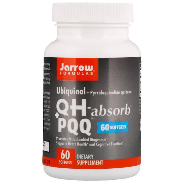 Пирролохинолинхинон и Убихинол (QH - Absorb + PQQ) 10/100 мг 30 капсул