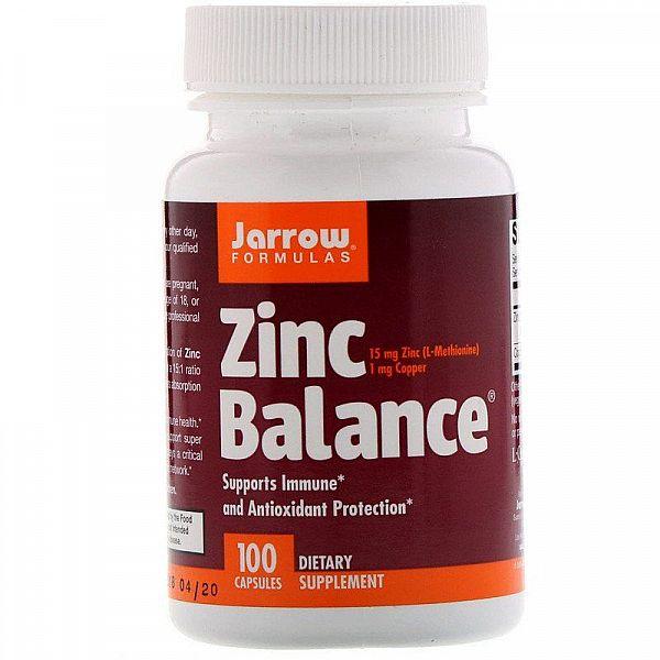 Цинк (Zinc Balance) 15 мг 100 капсул