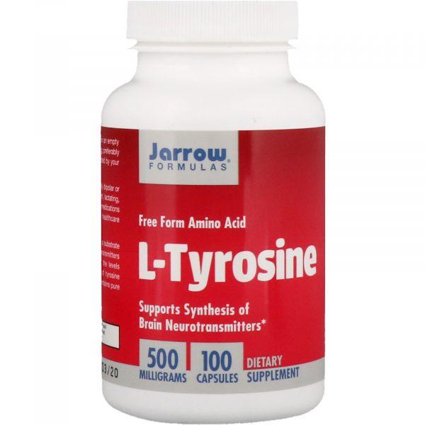 Л-Тирозин (L-tyrosine) 500 мг 100 капсул