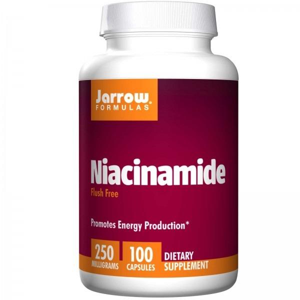 Ниацинамид (Niacinamide) 250 мг 100 капсул