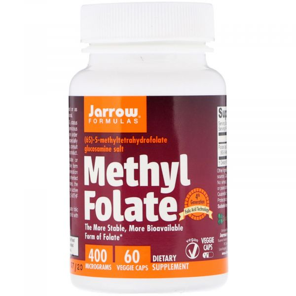 Метилфолат (Methyl folate) 400 мкг 60 капсул