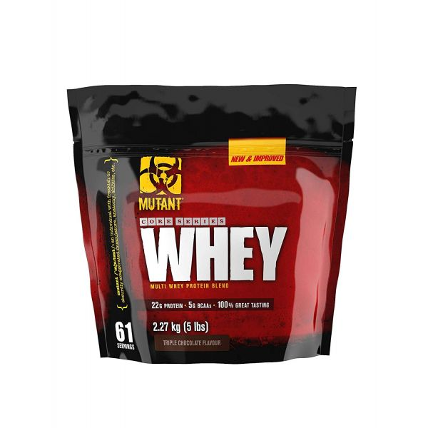 Протеин (Mutant Whey) 2270 г со вкусом тройного шоколада