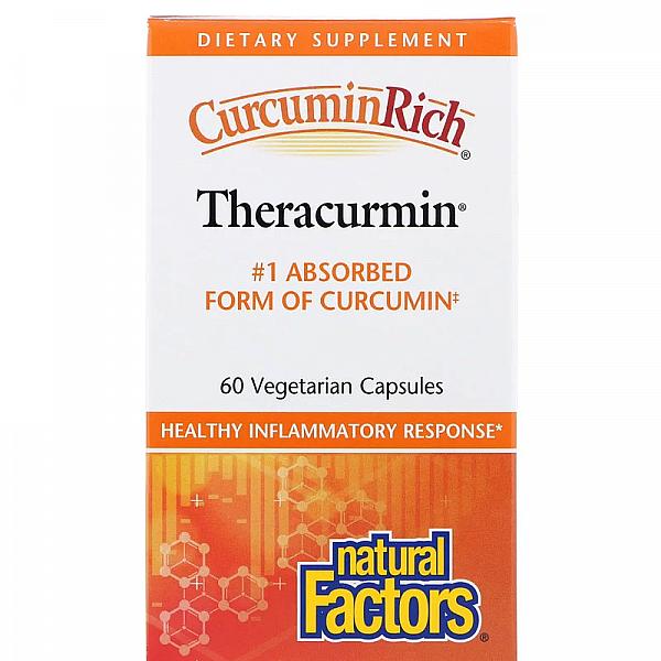 Куркумин (Theracurmin) 30 мг 60 капсул