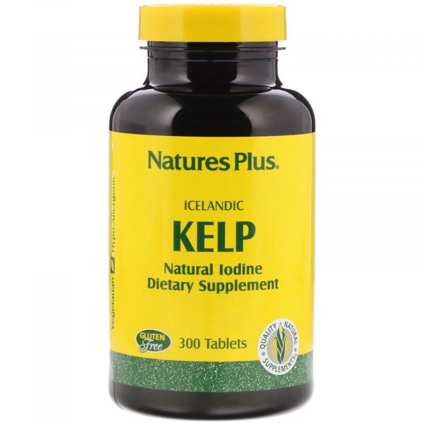 Ламинария исландская (Kelp icelandic) 150 мкг 300 таблеток