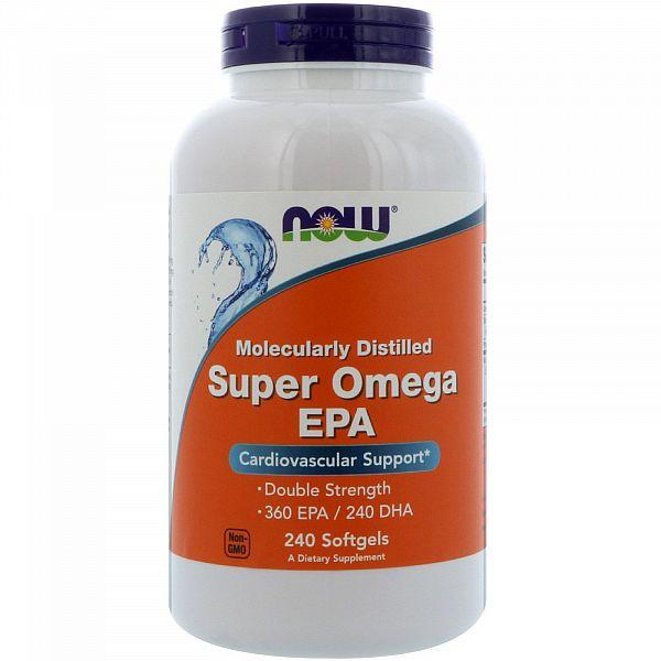 Супер Омега двойная сила (Super Omega EPA) 240 капсул