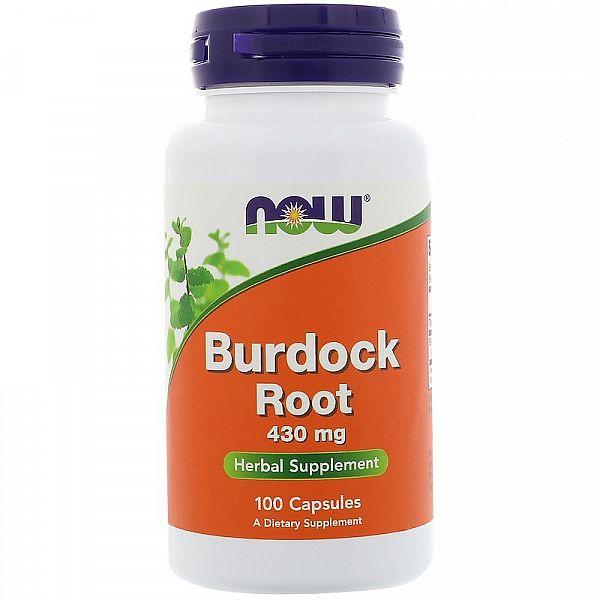 Корень лопуха (Burdock root) 430 мг 100 капсул