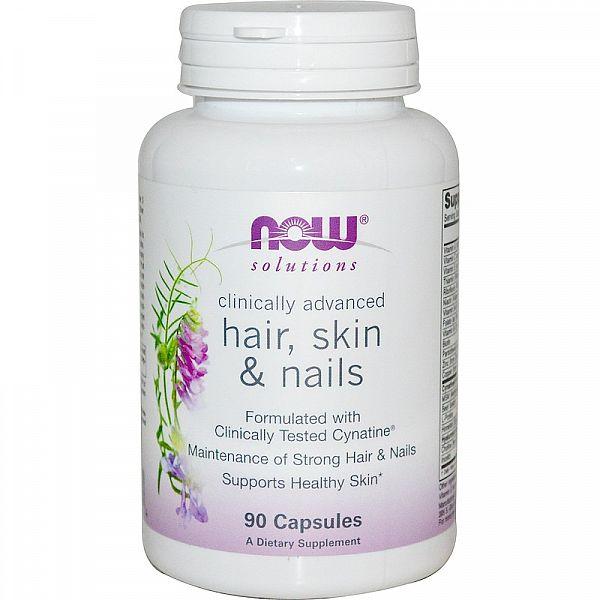 Витамины для кожи, волос и ногтей (Hair, Skin&Nails) 90 капcул
