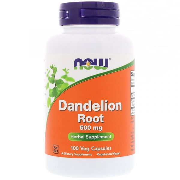 Корень одуванчика (Dandelion Root) 500 мг 100 капсул