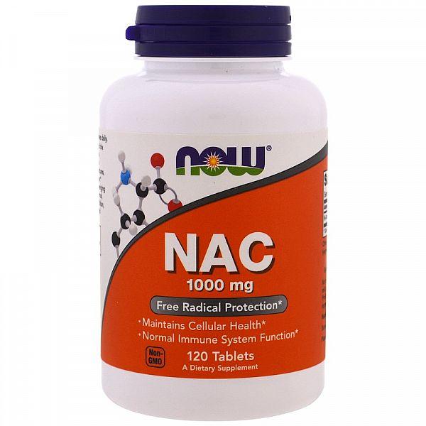 Ацетилцистеин (N-Acetyl Cysteine) 1000 мг 120 таблеток