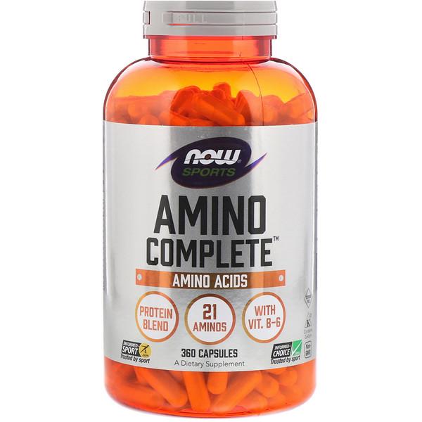 Комплекс аминокислот (Amino Complete Sports) 360 капсул