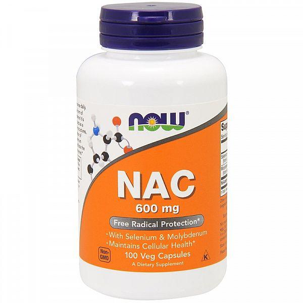 Н-Ацетилцистеин (N-Acetyl Cysteine) 100 капсул