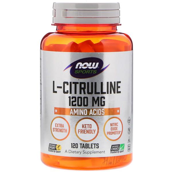 Цитруллин (L-Citrulline) 1200 мг 120 таблеток
