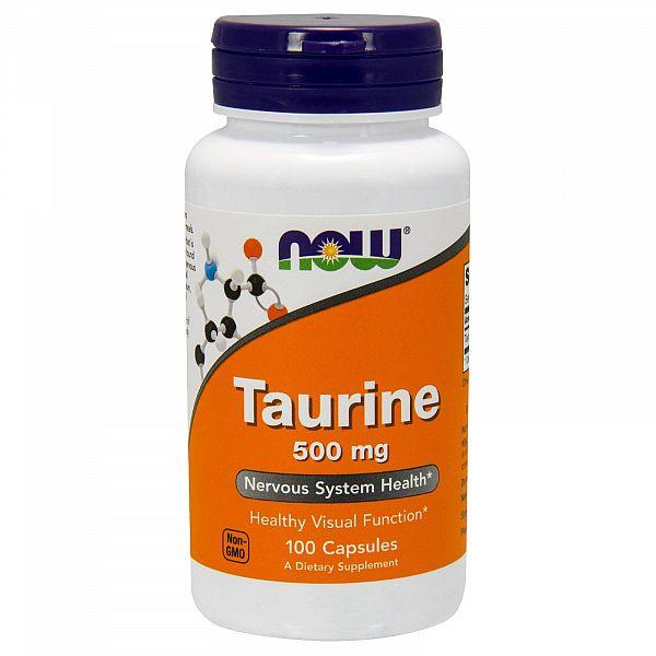 Таурин (Taurine) 500 мг 100 капсул