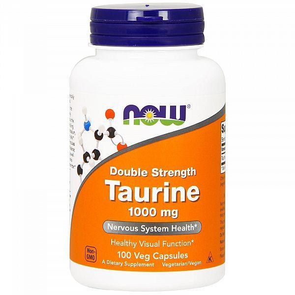 Таурин двойной силы (Double Strength Taurine) 1000 мг 100 капсул