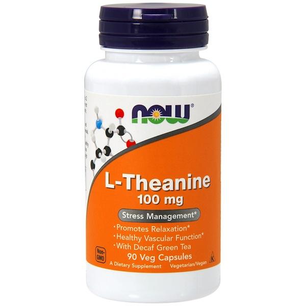 Л-Теанин (L-Theanine) 100/250 мг 90 капсул