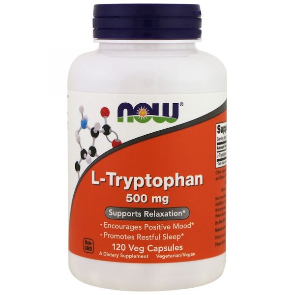 Л-Триптофан (L-Tryptophan) 500 мг 120 капсул